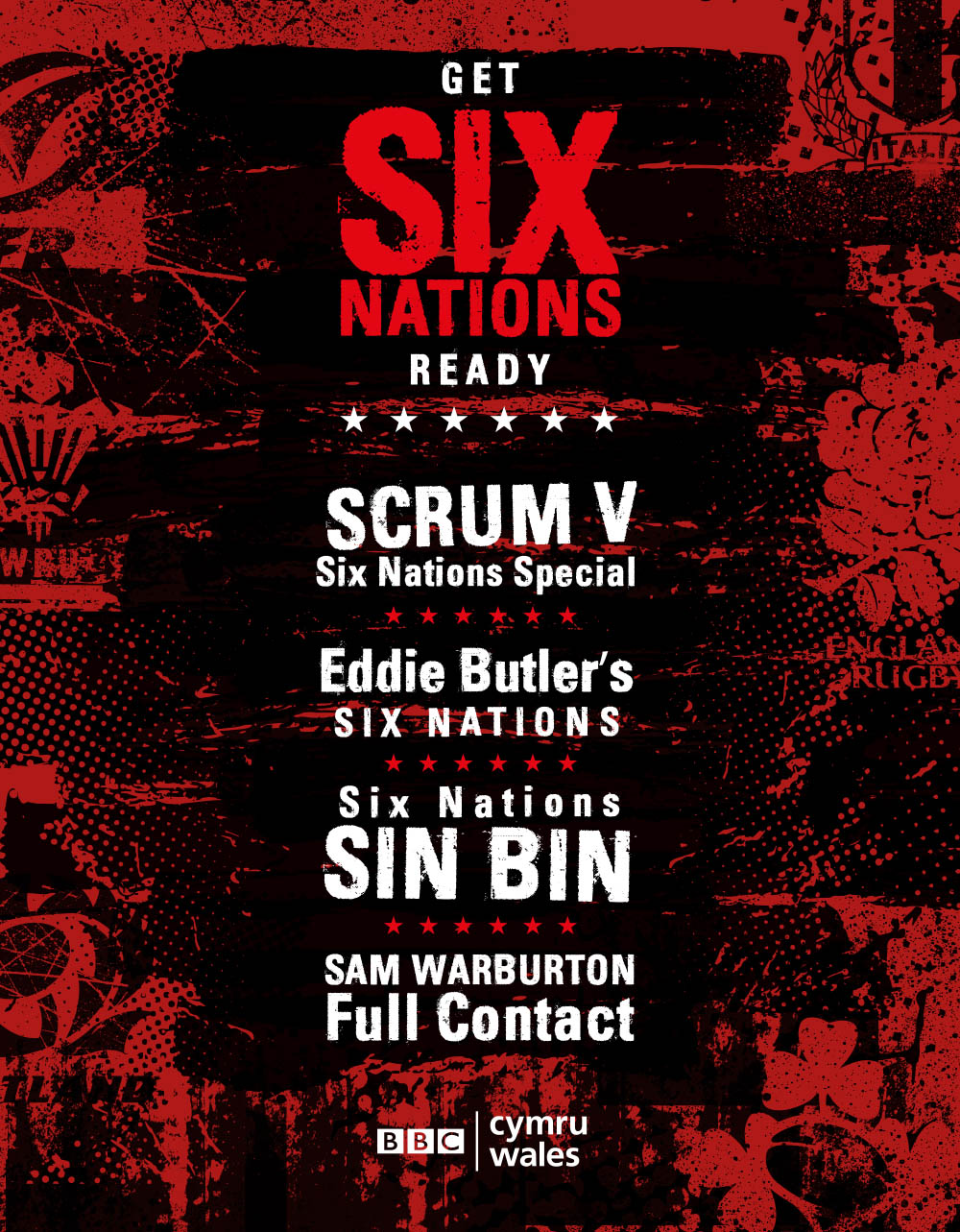 Six Nations 2019 press ad copy